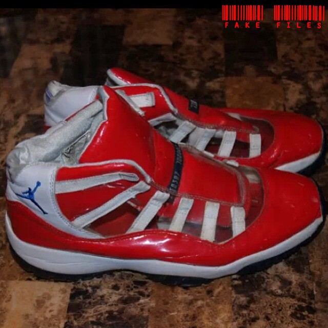 b5536680b28 People Caught Wearing Fake Air Jordan 11s | Sole Collector