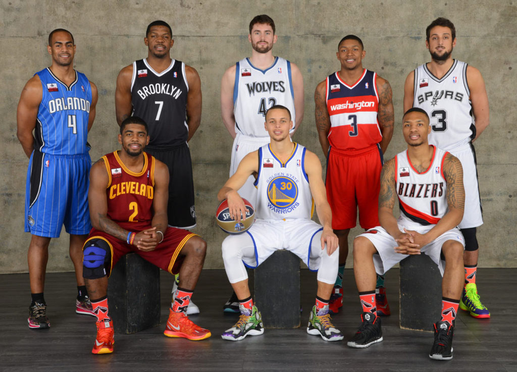2014 NBA Three-Point Contest Participants
