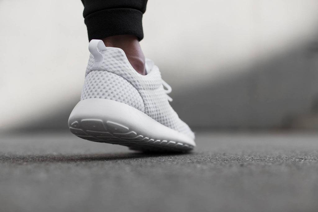 huge discount 23cac 843ab Nike Roshe Run Breeze White (4)