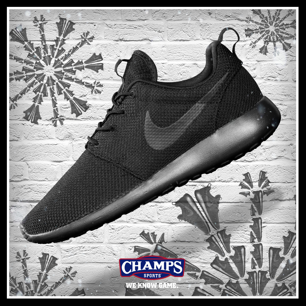 quality design dbb40 f044b ... buy the game plan by champs sports presents the shoeflakes nike roshe  one abd77 30db4