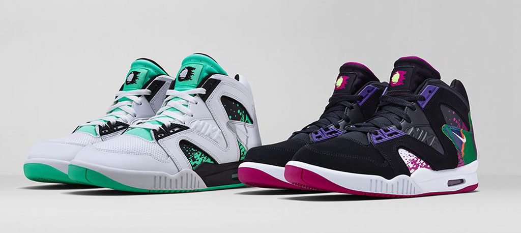 new products 581df 1c8f1 ... the heels of the announced date for the  Denim  edition, we now have  release information for two more colorways of the Nike Air Tech Challenge  Hybrid.
