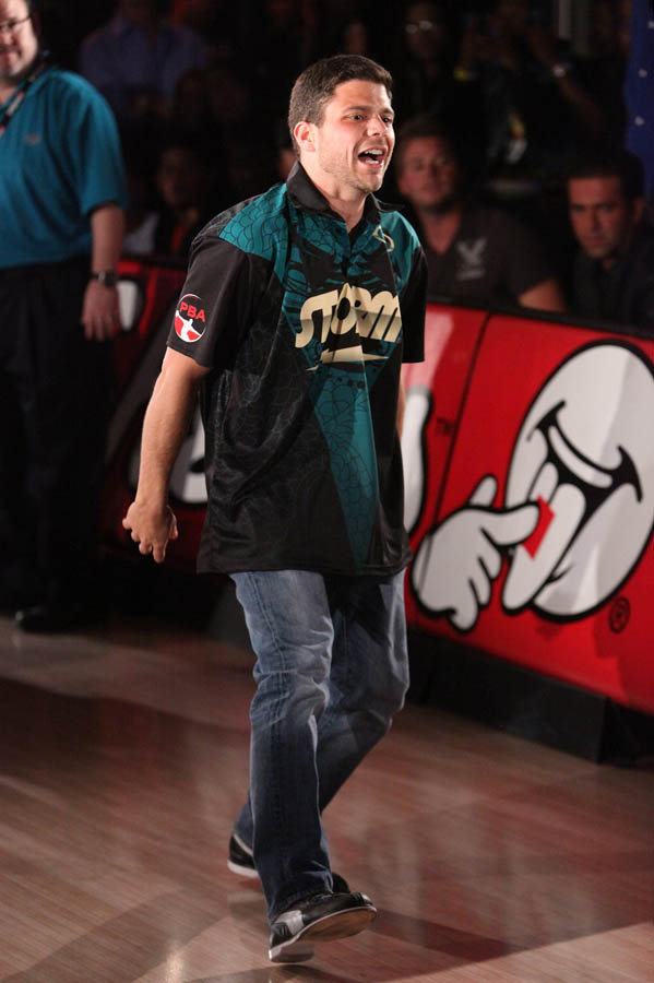 Chris Paul PBA Celebrity Bowling Tournament 2012 - Jerry Ferrara