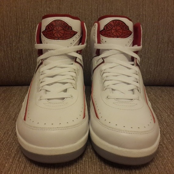 443a61fe1676d9 RELATED  Air Jordan 2 Retro White Black-Varsity Red-Cement Grey RELATED  Air  Jordan 2 Retro White Red