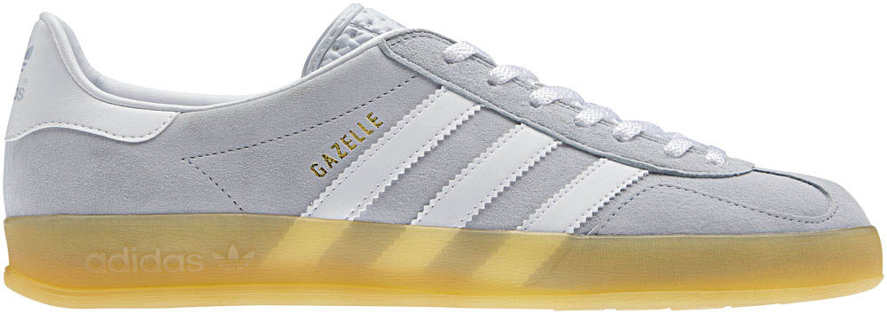 adidas Originals Gazelle Indoor Clear Grey Gum White V23173 (1)