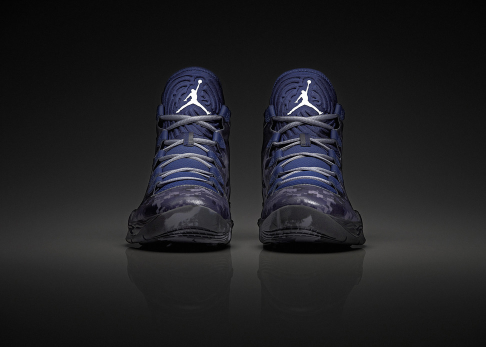 Air Jordan XX8 SE Georgetown Hoyas Armed Forces Classic PE front