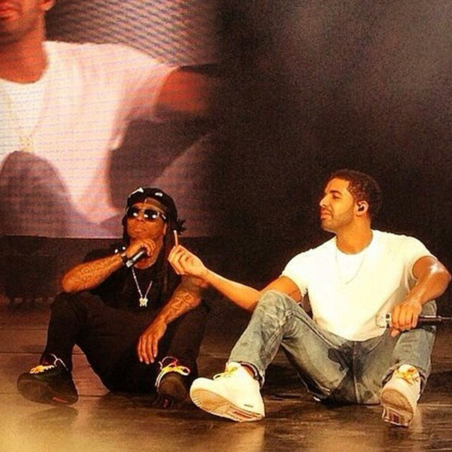 Drake & Lil' Wayne wearing Air Jordan III 3 Exclusives