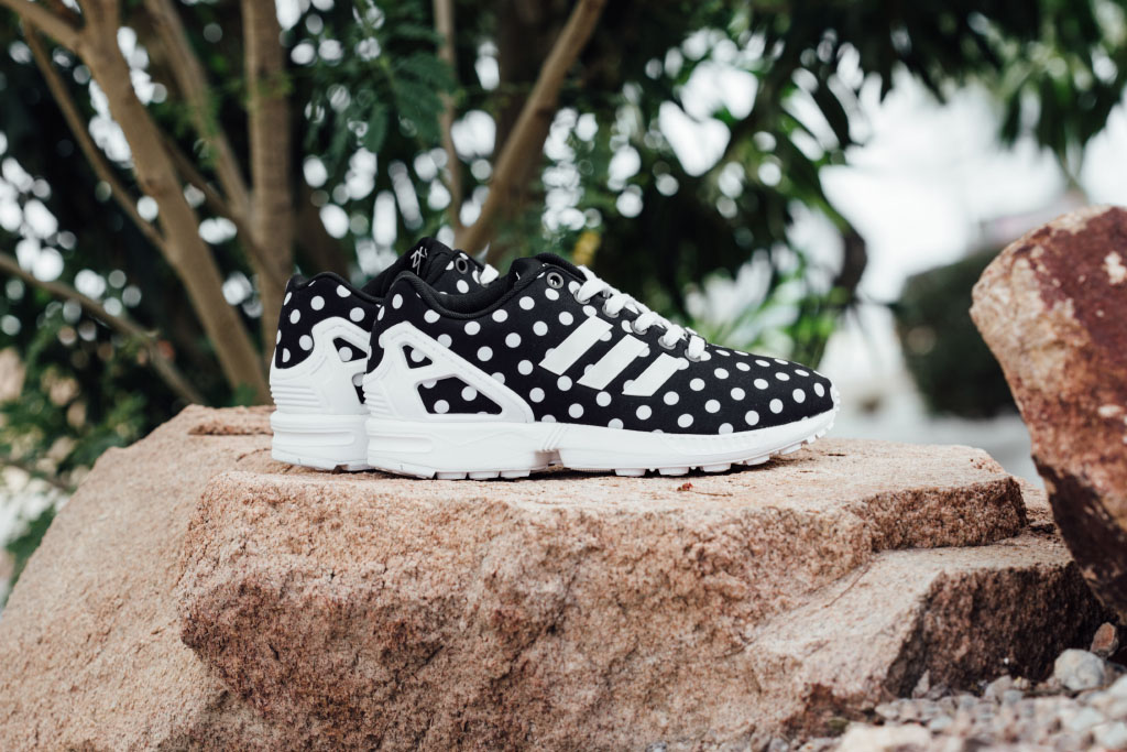 49c2f2944 ... where to buy adidas zx flux polka dot 1 aaacc 72002 reduced adidas  originals womens ...