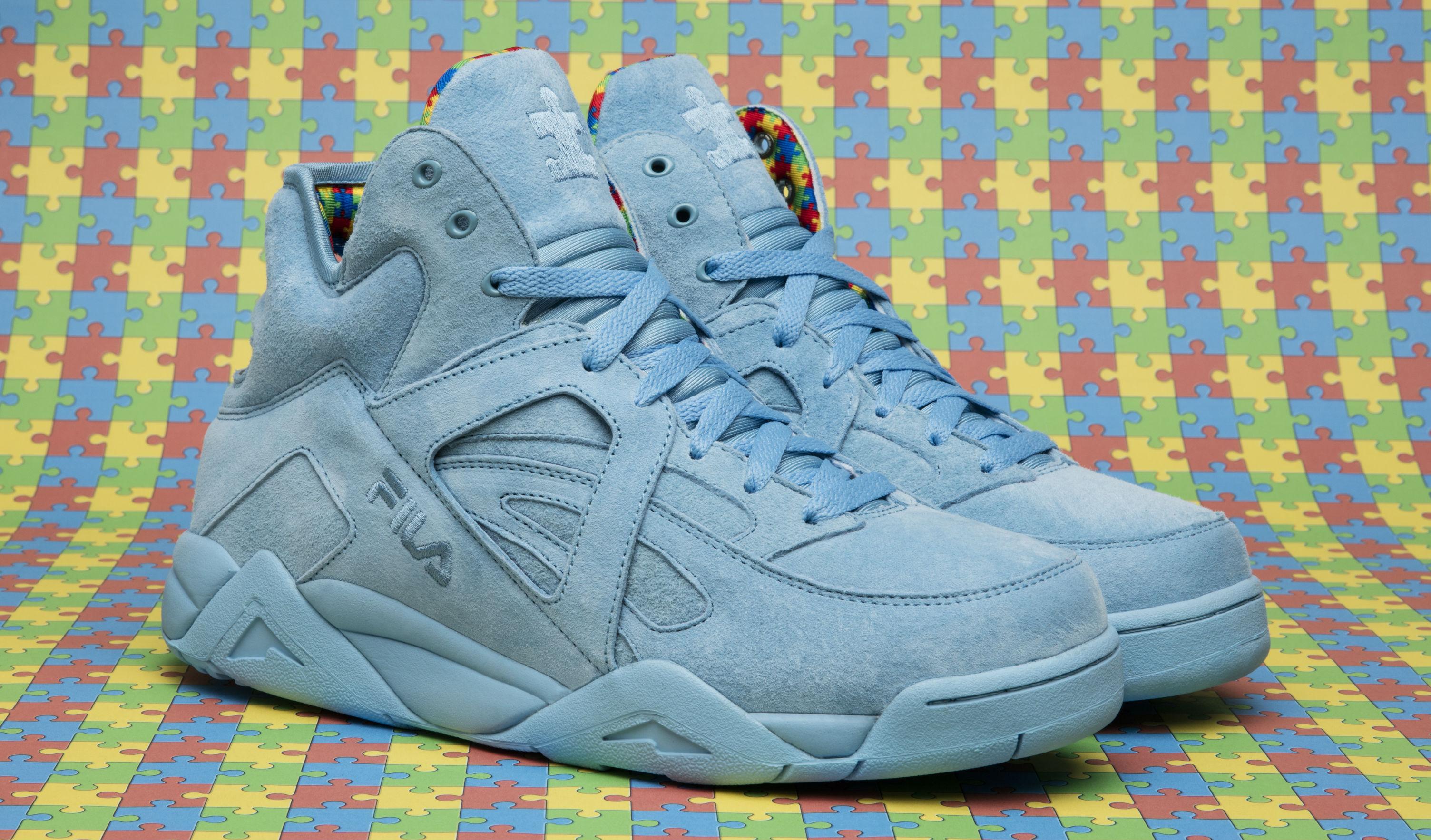 fila shoes winter. shoe city \u0026 fila made a sneaker for autism awareness fila shoes winter