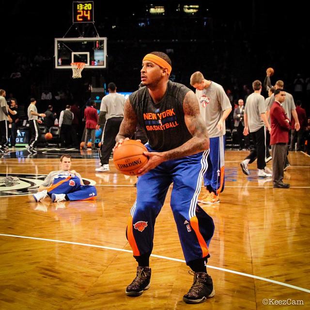 249e8c31f3af ... Carmelo Anthony wearing Veteran s Day Jordan Melo M10 PE ...