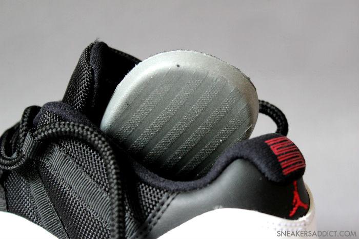 new product 08c7f 206fb Air Jordan XI 11 Low White Black True Red 528895-110 (6)