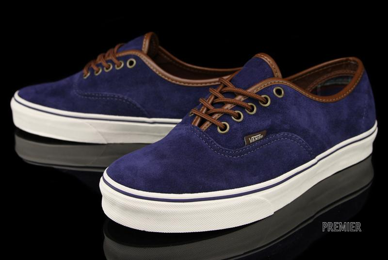 Vans Blue And Brown