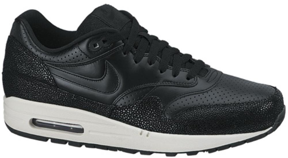 Nike Air Max 1 Leather PA Black/Black-Sea Glass