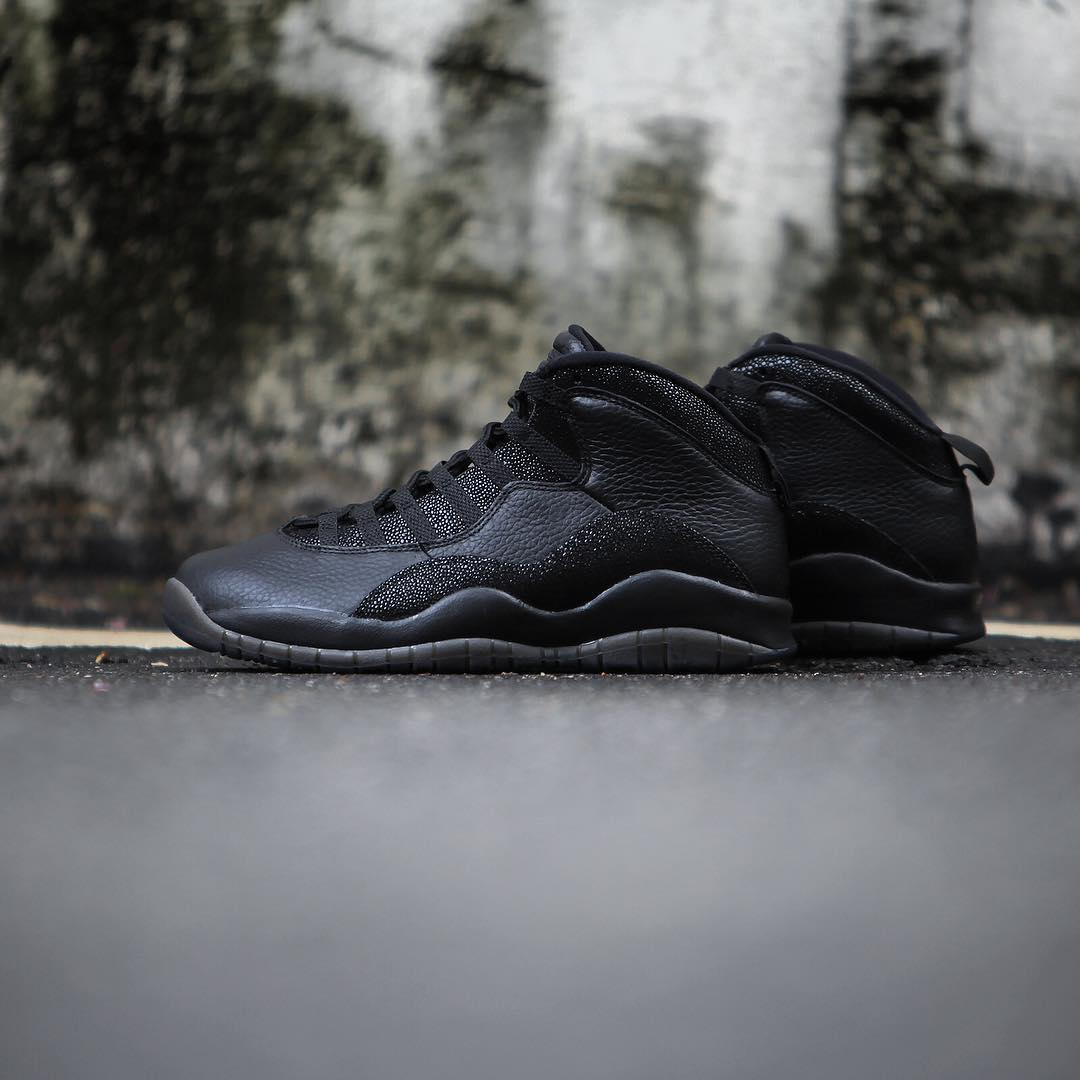 Air Jordan 10 OVO Black Release Date 819955-030 (5)