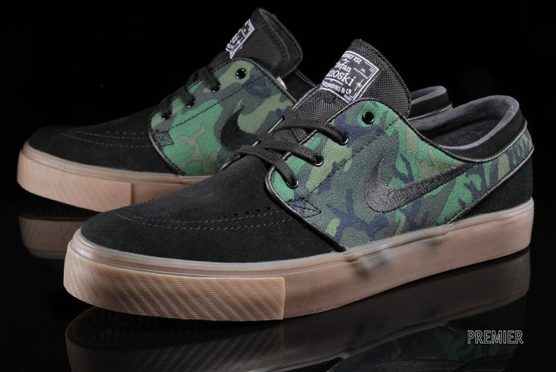 cheap for discount 3d2b7 ab530 Nike Zoom Janoski ERDL - Camo and Gum