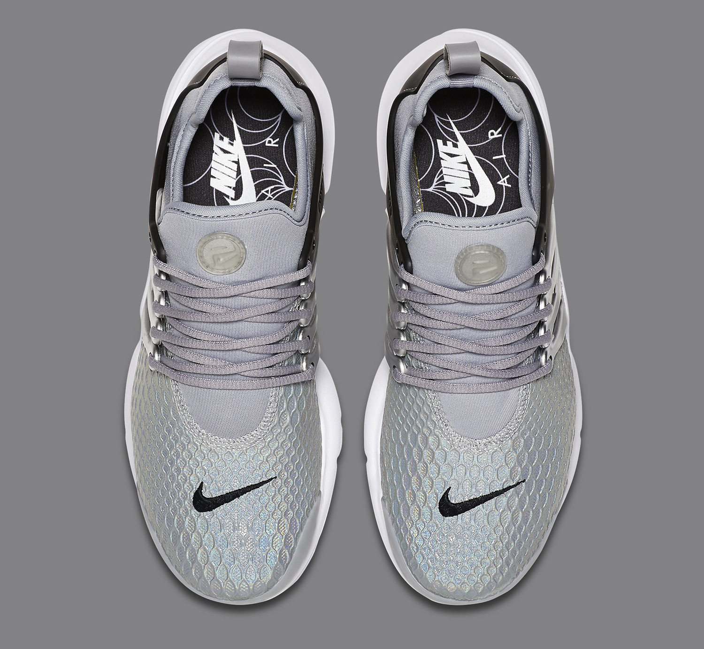 Silver Nike Air Presto Top Down cadb660d9