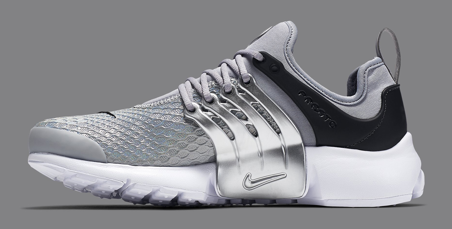 silver nike air presto womens sole collector. Black Bedroom Furniture Sets. Home Design Ideas