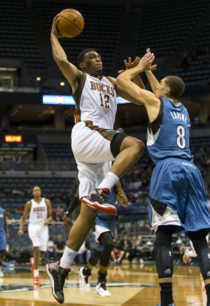 Jabari Parker wearing 'Slam Dunk' Jordan Super.Fly 3 (2)