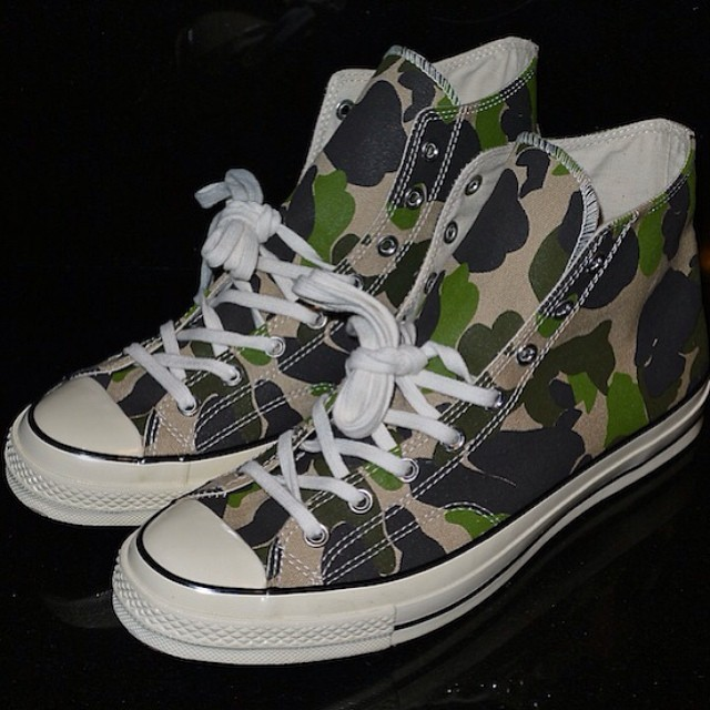 DJ Clark Kent Picks Up Converse Chuck Taylor All Star 70s Camo