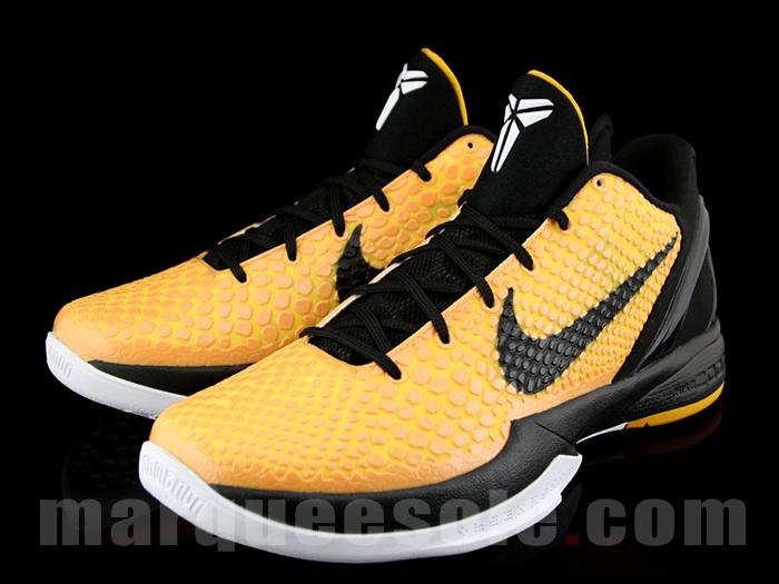 Nike Zoom Kobe VI POP - Del Sol Lightbulb Black Tour Yellow White 429659-700 23ca9a0fc049