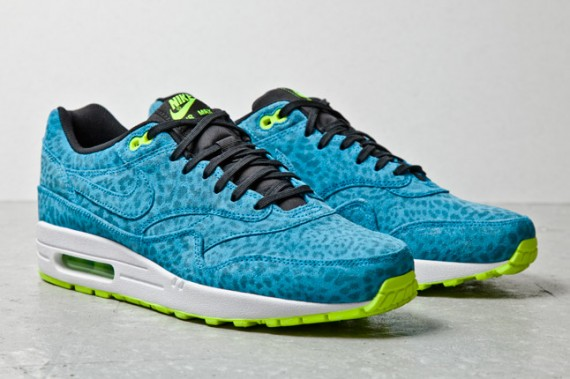 Nike Air Max 1 FB Blue Leopard | Sole Collector