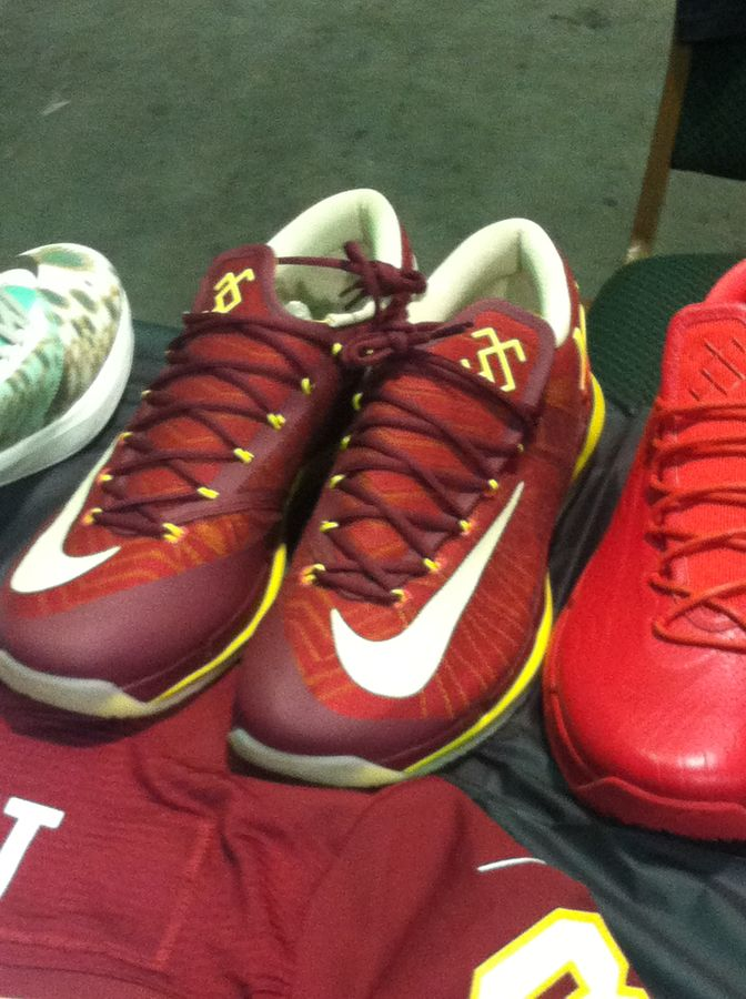 Randy Williams Displays Rare Nike KD Shoes (16)