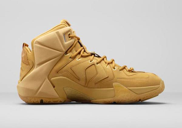sale retailer fe9ca ee271 Nike LeBron XII 12 EXT Wheat (2)