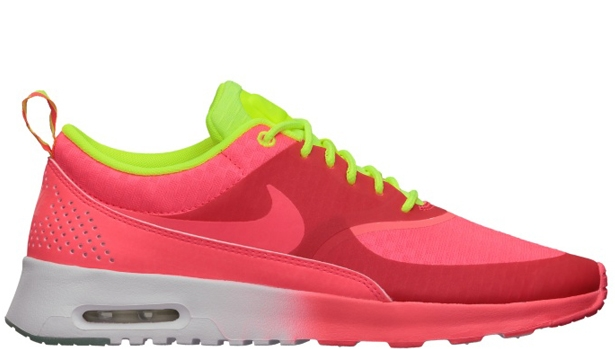 Nike Air Max Thea Woven QS Women's Atomic Red/Atomic Red-Volt-White