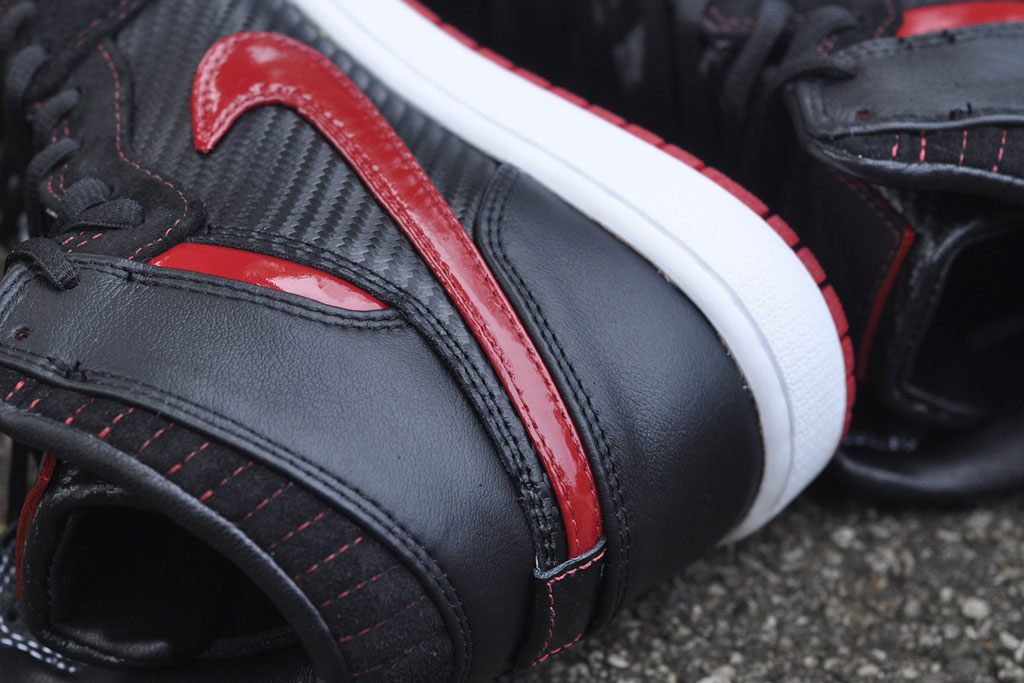 Air Jordan 1 Carbon Fiber, Suede & Patent Leather by JBF Customs (5)