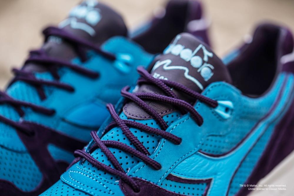 Skeletor Bait Diadora Shoes Detail