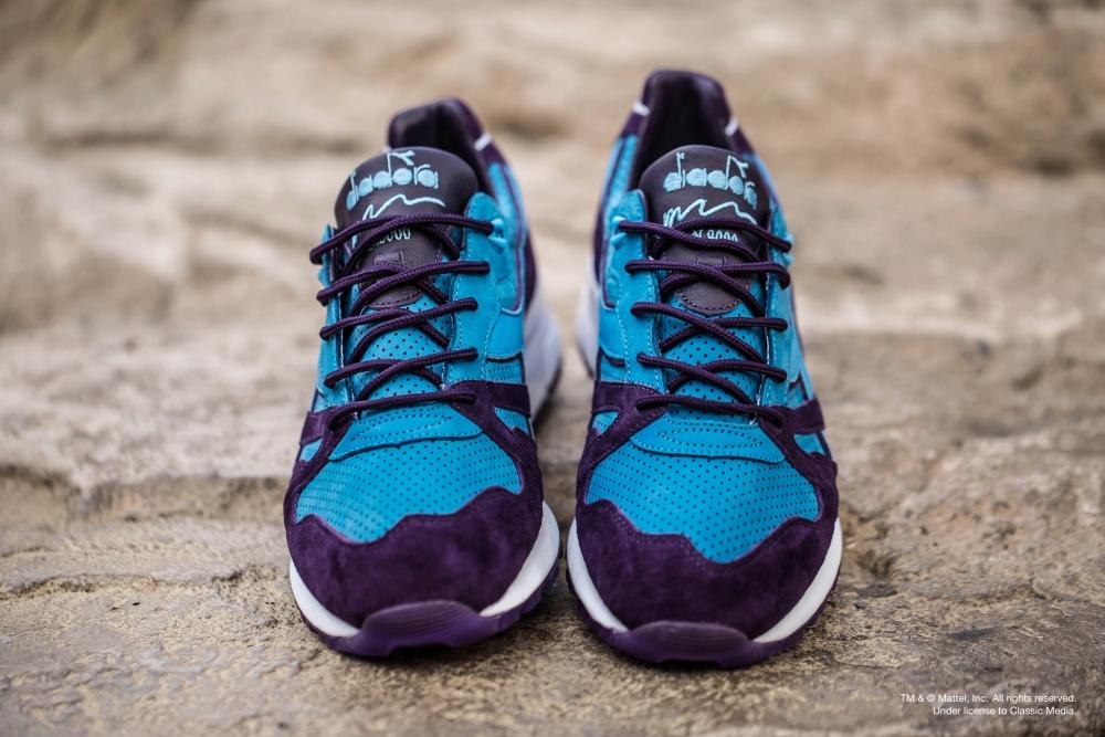 Skeletor Bait Diadora Shoes Front