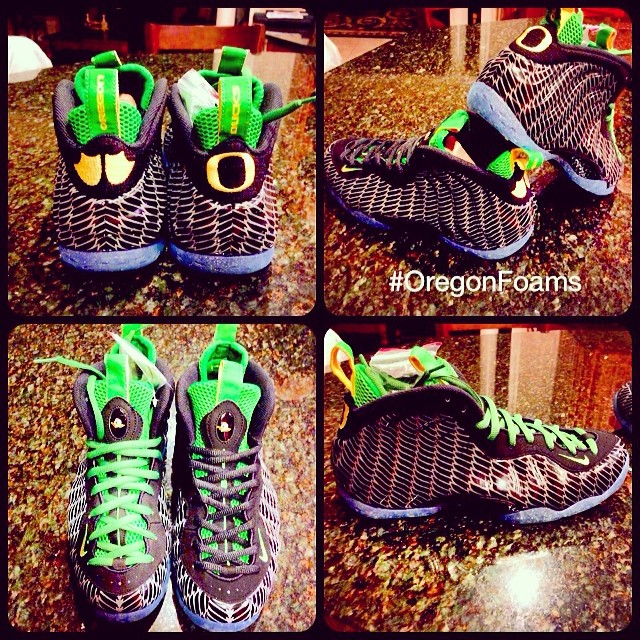Big Tigger Picks Up Nike Air Foamposite One Oregon