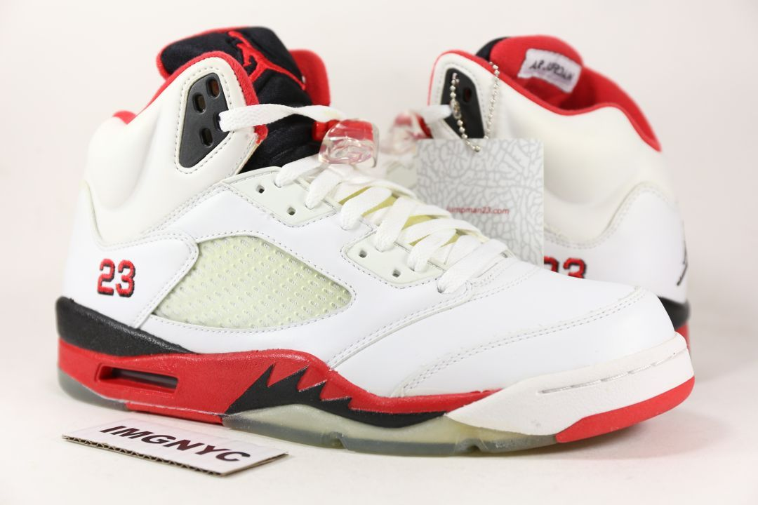Air Jordan 5 Fire Red (2006)