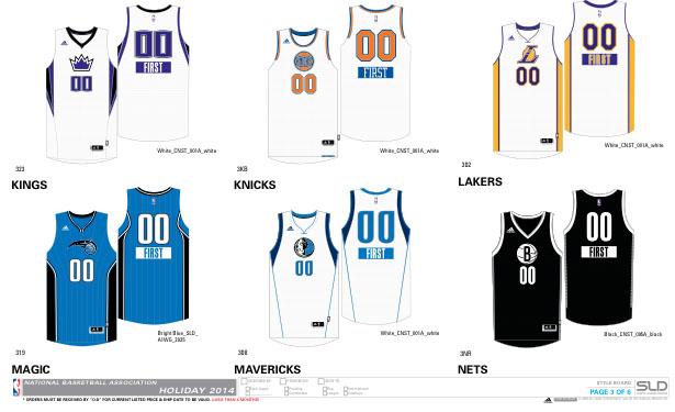 An Early Look at Next Season's NBA Uniforms | Sole Collector