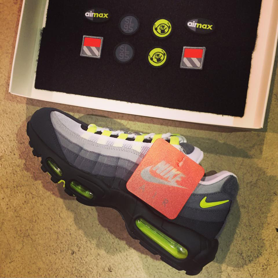Nikelab Puts Patches On The Neon Air Max 95 Sole Collector