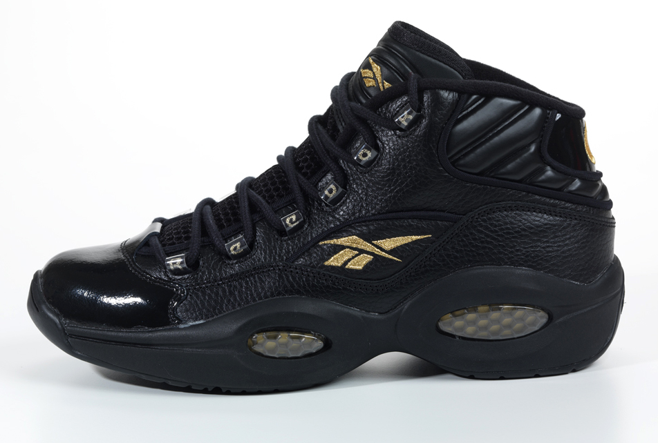 Reebok Question Black/Gold New Year (2012)