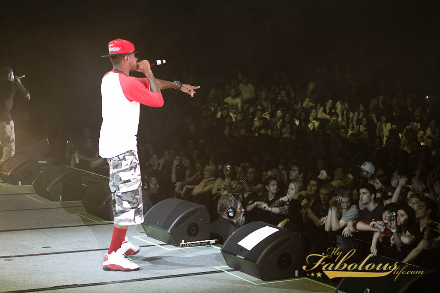 SC Celebrity Sneaker Watch Fabolous Rocks Air Jordan