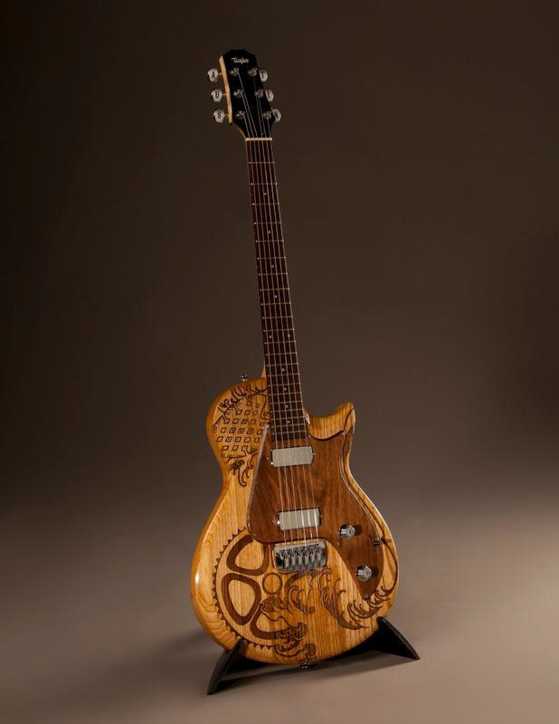 asics to give away custom taylor guitars at trirock austin sole collector. Black Bedroom Furniture Sets. Home Design Ideas