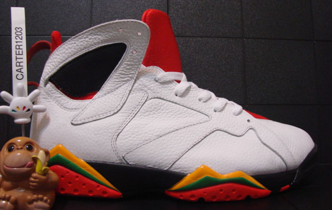 Air Jordan 7 Bin23 Premio Look-See Sample (2010)