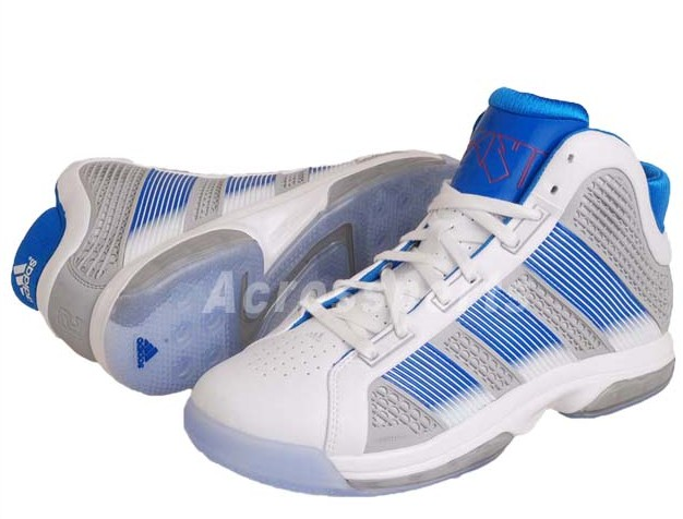 adidas SuperBeast White Bright Blue Silver