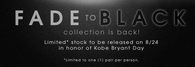 Kobe Fade To Black
