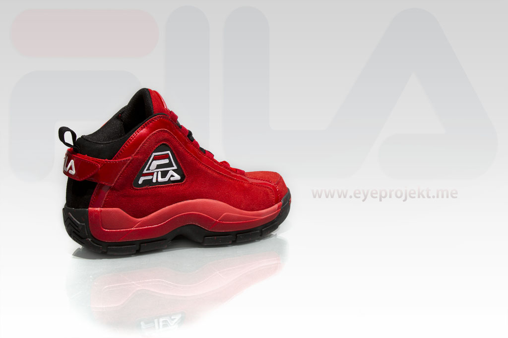 FILA 96 Grant Hill 2 - Red Suede