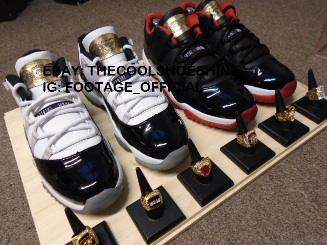 Air Jordan XI 11 Low Championship Rings Pack (2) 632a8fa9c