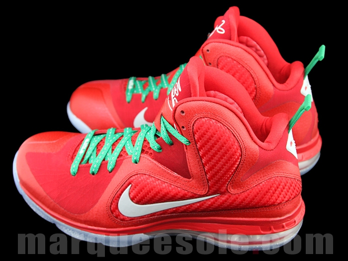 Christmas Lebron 9s.Nike Lebron 9 Christmas New Images Sole Collector
