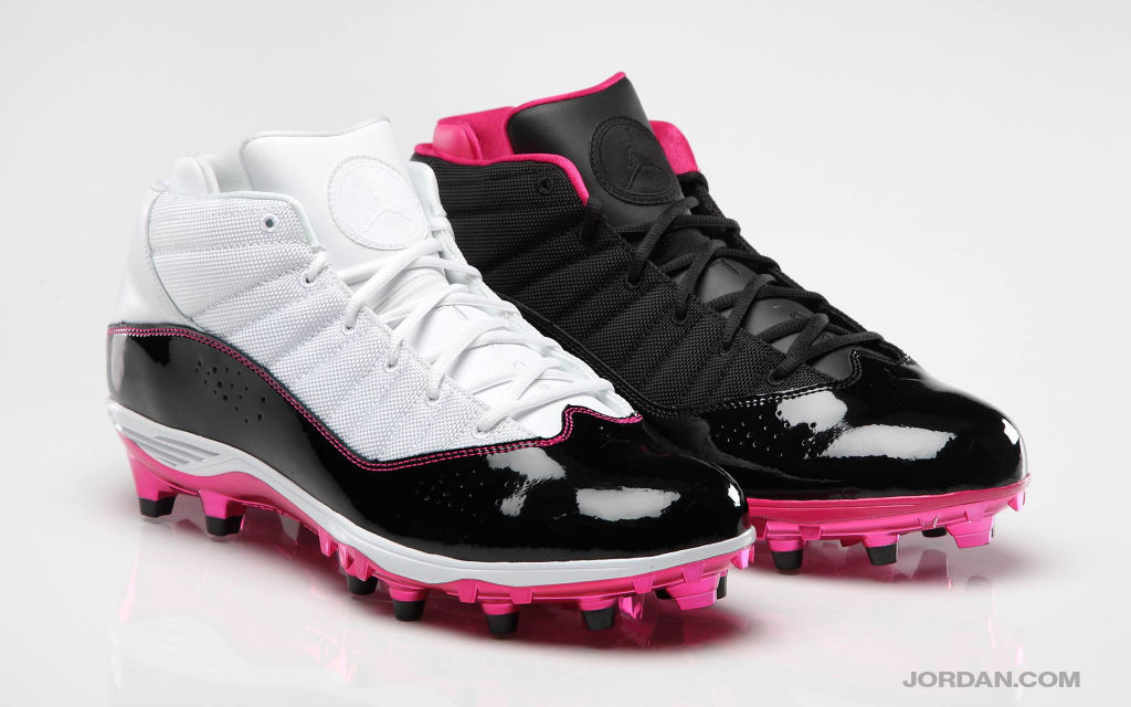Jordan 6 Rings Breast Cancer Awareness PE Cleats