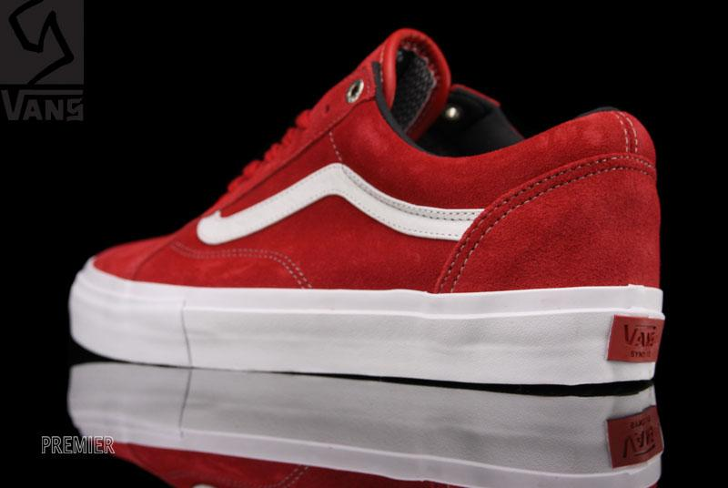 Vans Syndicate Old Skool Pro S - Red White  1f5017c230
