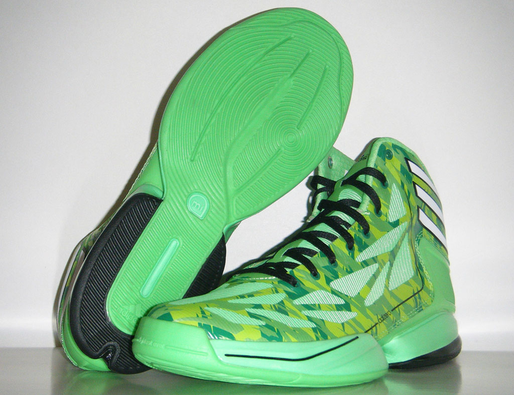 adidas adiZero Crazy Light 2 Neon Green Camo (10)