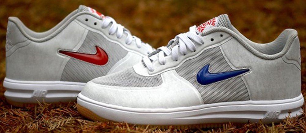 Nike Lunar Force 1 Fuse SP Neutral Grey/University Red-Game Royal-White