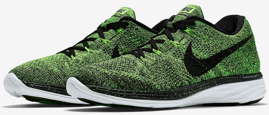 This Nike Flyknit Lunar 3 Is Electric | Sole Collector