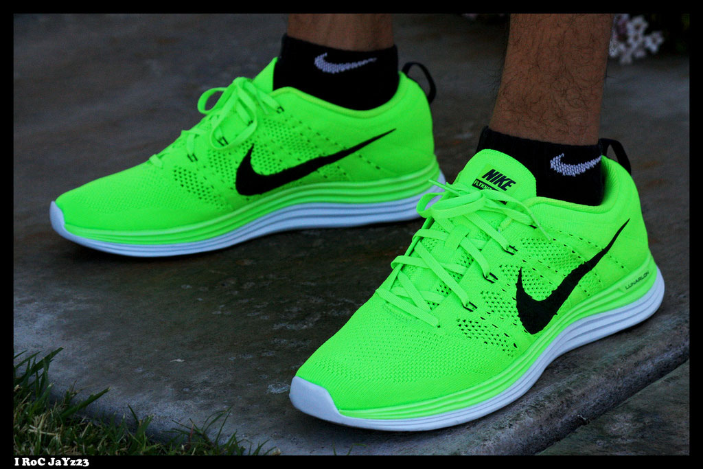 Spotlight: Forum Staff Weekly WDYWT? - 4.20.14 - I RoC JaYz23 wearing Nike Lunar Flyknit 1+ Electric Green