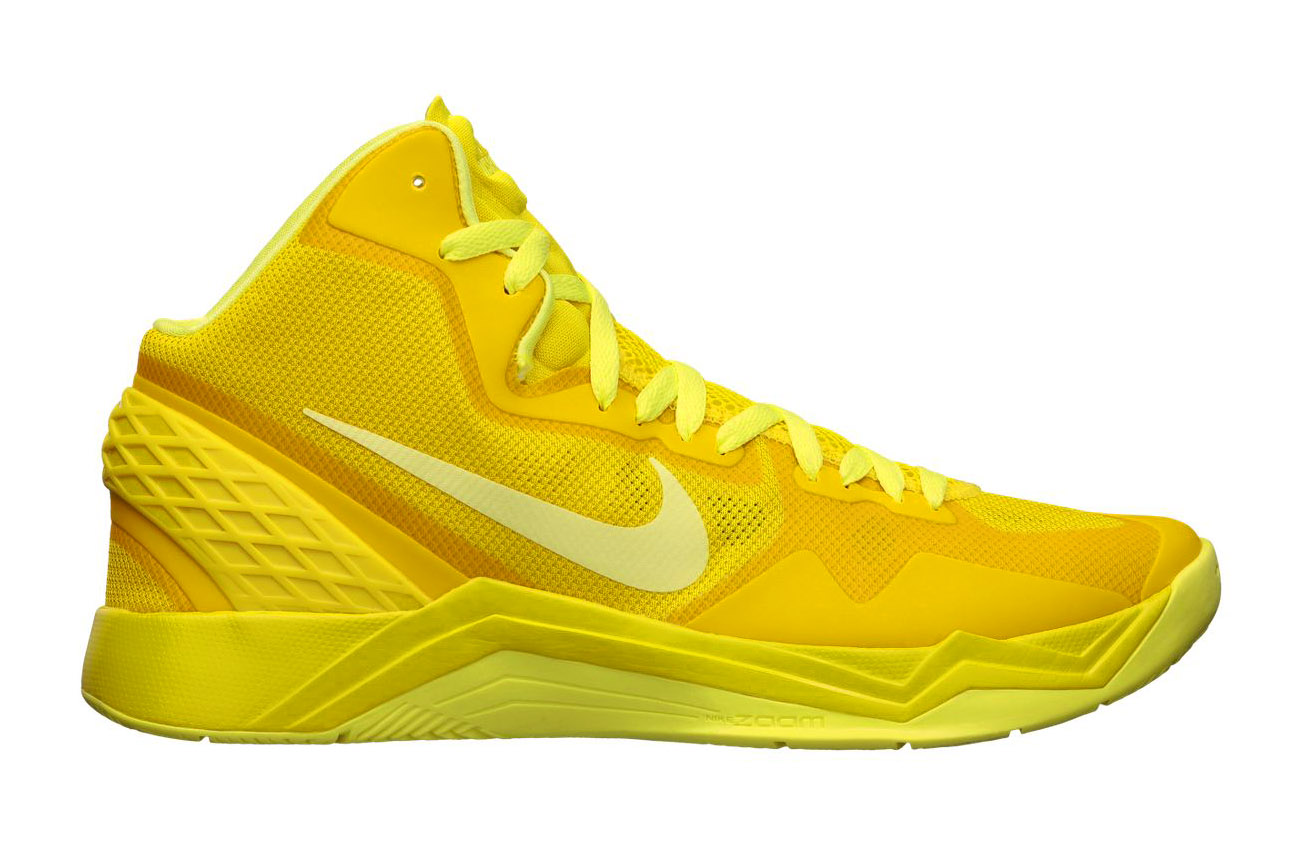 2d63c973383 The new Zoom Hyperdisruptor from Nike Basketball is now available in a very  yellow colorway.